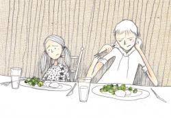 Spruitjes eten