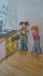 Sanne en Melody