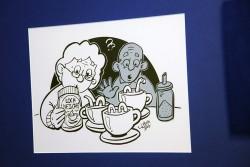 Harry Jentjens-illustraties activiteiten ouderen