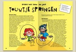Harry Jentjens-vormgeving en illustraties boek Spelen zonder computer