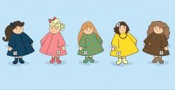 5 wijze meisjes