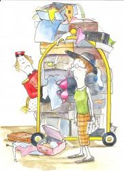 saartje en de koffers