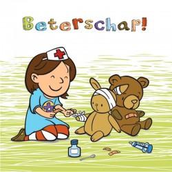 beterschapskaartje voor een kind