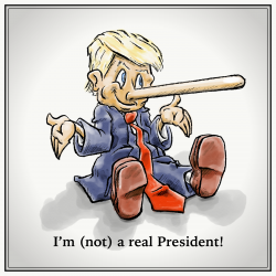 The Pinocchio president