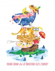 Illustratie voor basisschool
