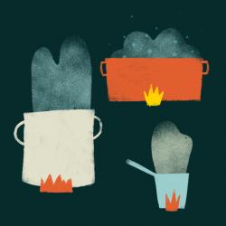 Louloupelousa illustratie illustration