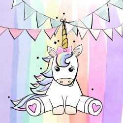 eenhoorn, unicorn,