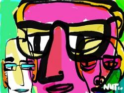 editorial illustration - loose drawn - dutch illustrator carmen nutbey