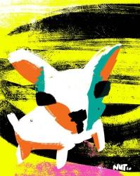 dog hond - conceptual illustration - illustratie - dutch illustrator Carmen Nutbey
