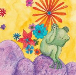 Kinderboekillustratie - aquarel, kleurpotlood en inkt