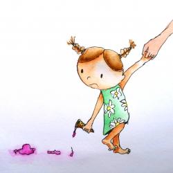 kinderboekillustratie - aquarel en inkt