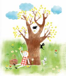 prentenboek illustraties, kinderboek  illustratie,