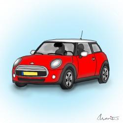 Illustratie Mini by Marit van Buchem