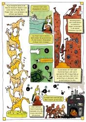 Pagina uit het stripboek