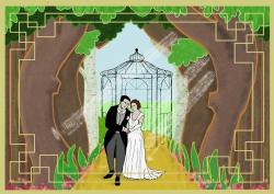 Opdracht voor uitnodigingskaart huwelijk