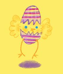 feest passen kip kippen blij teken