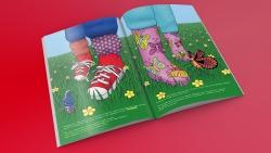 Kinderboek illustratie kleurrijk