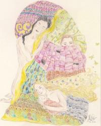 Geïnspireerd op Gustav Klimt