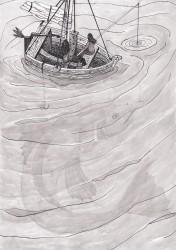 De boot en de vis